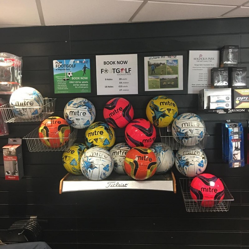 Mitre footballs ready for packing as one job-lot